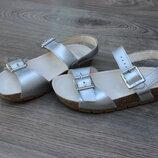 Сандалии босоножки clarks air spring fx натур. кожа 29-30 размер