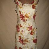Льняное платье р-р8
