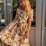 Платье 42 44 46 размеры 4 цвета