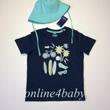 Летний комплект футболка и панамка Lupilu на мальчика 4-6 лет, рост 110/116