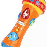 интерактивная яркая игрушка детский развивающий микрофон Vtech Сша оригинал
