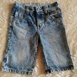 Детские джинсовые шорты tu для мальчика 8 лет.