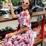 Красивое платье «Цветы new» 42 - 46