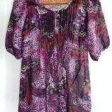 Блуза туника New Look легкая прозрачная