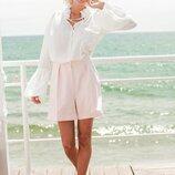 Красивая блуза «Баронесса» белая