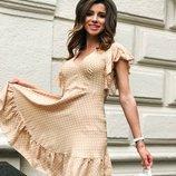 Платье «Рита» 42 - 44, 46 - 48 шесть расцветок
