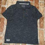 футболка поло котон 5лет Некст сток большой выбор одежды