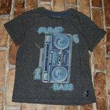 футболка 5-6лет F&F большой выбор одежды