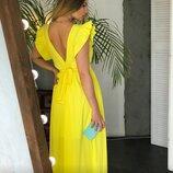 Красивое платье 42 - 46 расцветки разные