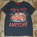 футболка Маквин 4-5лет Дисней сток большой выбор одежды