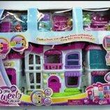 Домик 16689. Ляльковий будинок. Будинок для пупсика. Кукольный домик. Домик с мебелью.