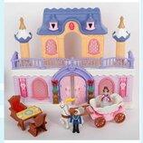 Замок 20160. Ляльковий будинок. Будинок для пупсика. Кукольный домик. Домик с мебелью.