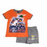 Летний костюм Disney для мальчика 3,6,8 лет