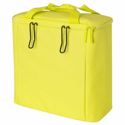 Сумка велосипед обратно, зелено-желтый, 40 см 003.638.02 Sommar 2017, Соммар 2017 Икеа Ikea