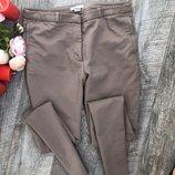 Бежевые брюки H&M 38