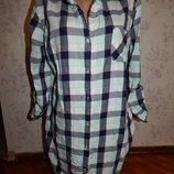 халат-рубашка котоновый рS/M