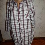 халат-рубашка котоновый р14