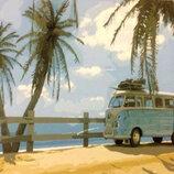 Картина По Номерам. BRUSHME Маями GX21683. Машина. Автомобіль.