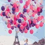 Картина По Номерам. BRUSHME Париж В Шарах GX24910