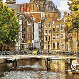 Картина По Номерам. BRUSHME Старый Амстердам GX21691
