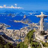 Картина По Номерам. BRUSHME Рио-Де-Жанейро GX8320