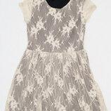 Платье George ажурное на подкладке на 10-11 лет рост 140-146см