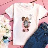 Якісні жіночі футболки   Женские футболки прямий принт