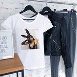 Жіночі футболки принт   Женские футболки