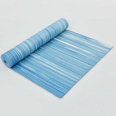 Коврик для фитнеса и йоги Strip 8378 толщина 6мм, размер 1,73х0,61м
