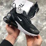 Nike Air Max 270 All Black White