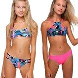 Яркие купальники для девочек Тм Keyzi 122-164 рр