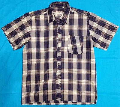 Рубашка Мужская - синего цвета в клетку