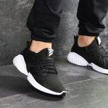 Кроссовки мужские сетка Adidas AlphaBounce черные