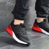 Кроссовки мужские сетка Nike black/red