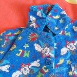 Пижама байковая 2-3 года