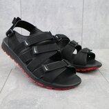 Мужские сандали кожа Nike black