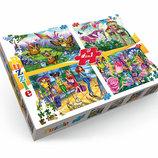 Пазлы 120 элементов 4в1 Danko toys