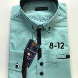 Школа Новые поступления рубашек на парней 128-152р