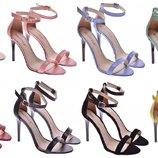 Женские босоножки на каблуке,натуральная кожа, замша код fs-t-2072