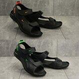 Мужские сандалии Nike, натуральная кожа, код gavk-311