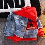Модная курточка джинс р. 110-130