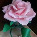 Светильник роза розовая,торшер