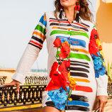 Рубашка туника пляжная хлопок INDIANO 1117 серия AnastaSea 2019 в наличии