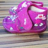 Текстильные туфельки для девочки немецкого бренда elefanten