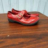 Оригинальные туфли мокасины clarks un structured,размер 37.5...