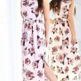 Платье в пол супер софт 46-48 , 50-52 , 54-56