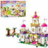 Конструктор Brick 2611 Замок принцессы 628 деталей
