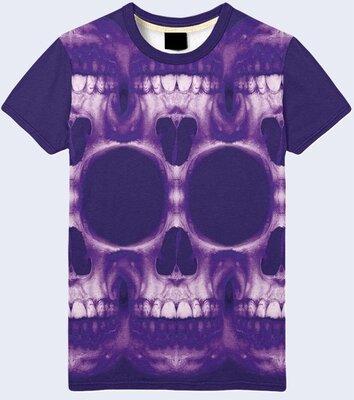Мужская футболка 3D Skulls Большой выбор