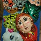 Новогодние маски в ассортименте