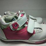 Туфли для девочек Calorie арт.A1338-03A малиново-белый ,21-26 р., 13